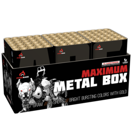Lesli Vuurwerk Maximum Metal Box
