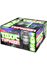 Lesli Vuurwerk Toxic Typhoon 144 shots