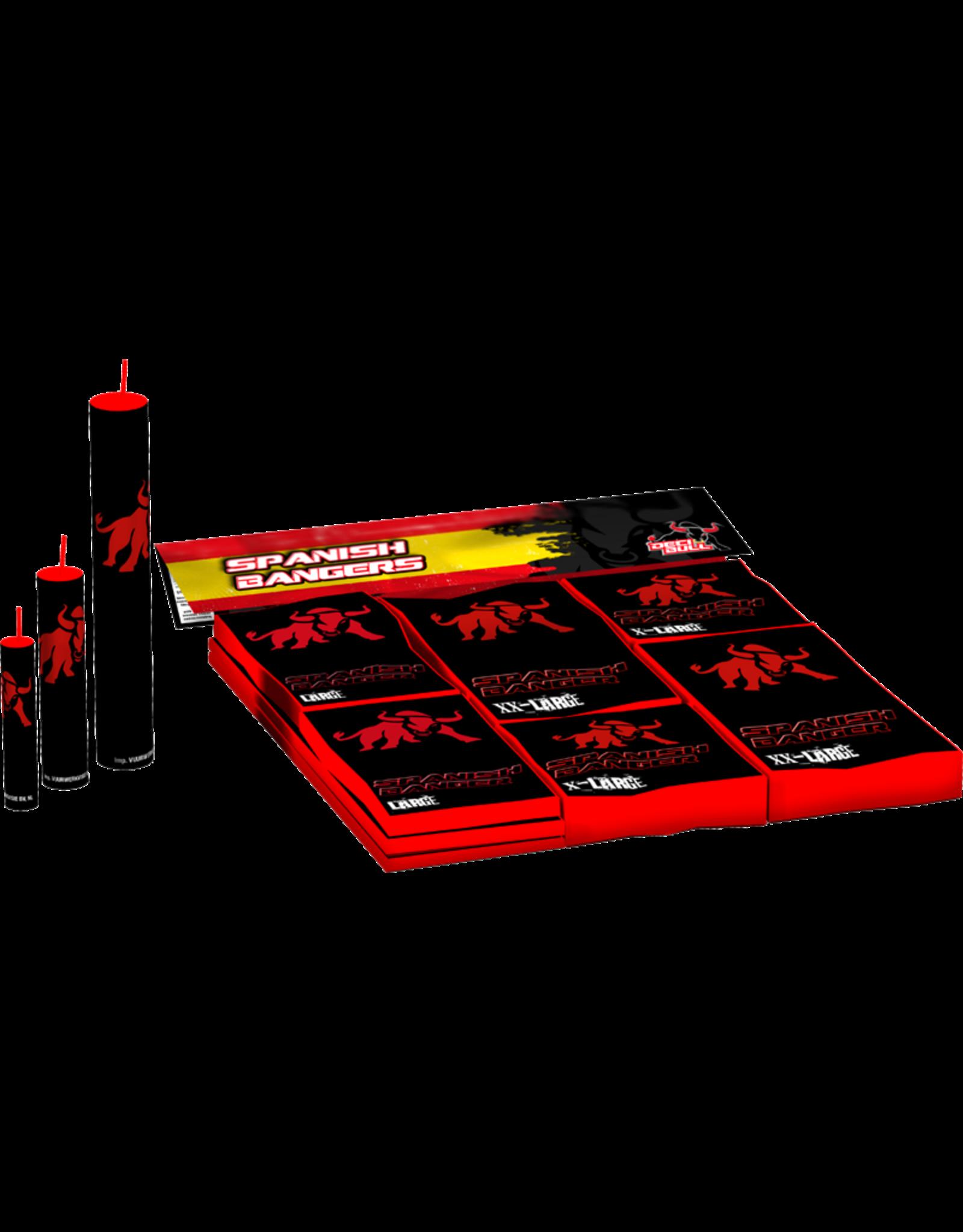 Vuurwerktotaal  DECIBULL Spanish Banger Pack