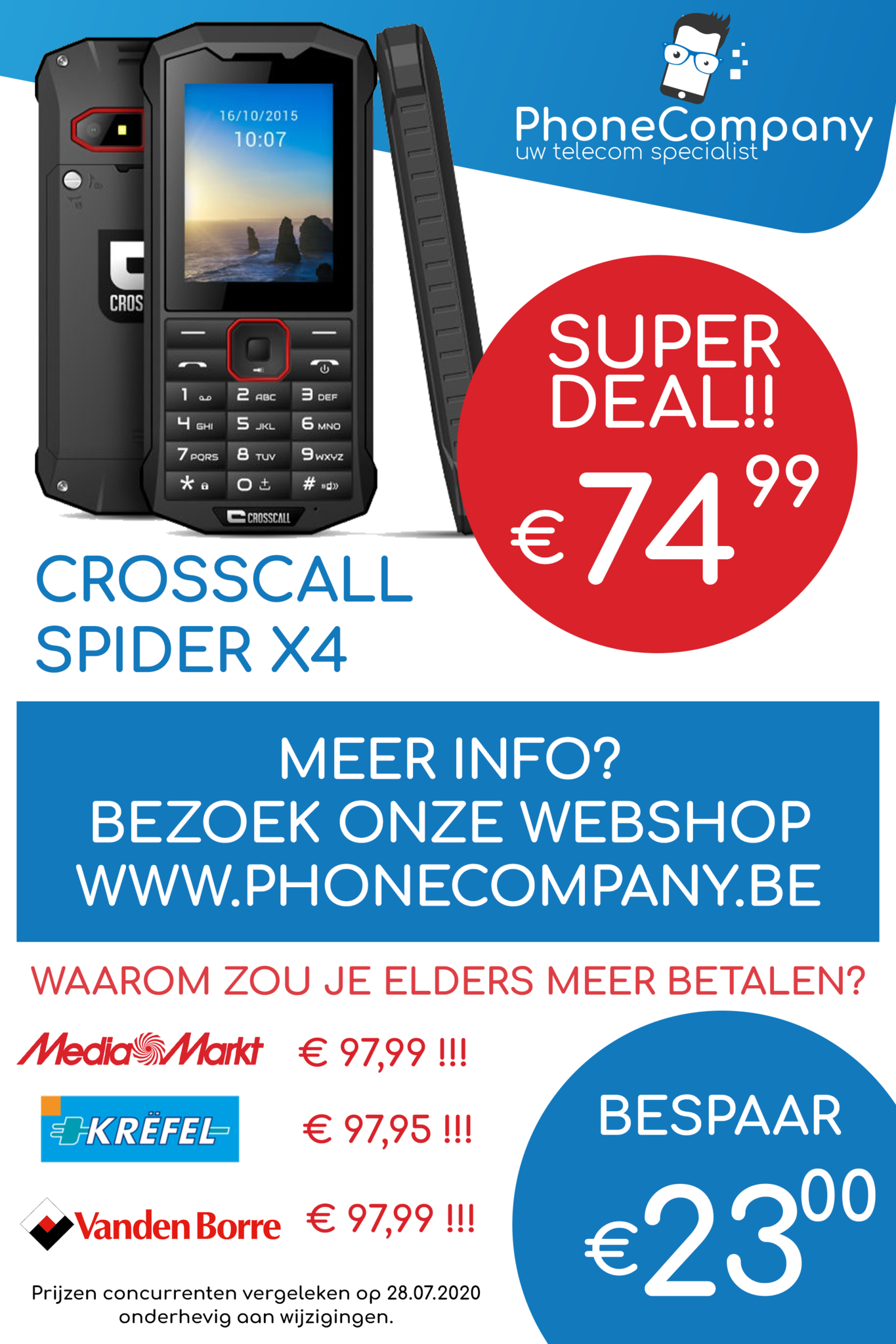 Crosscall Spider X4