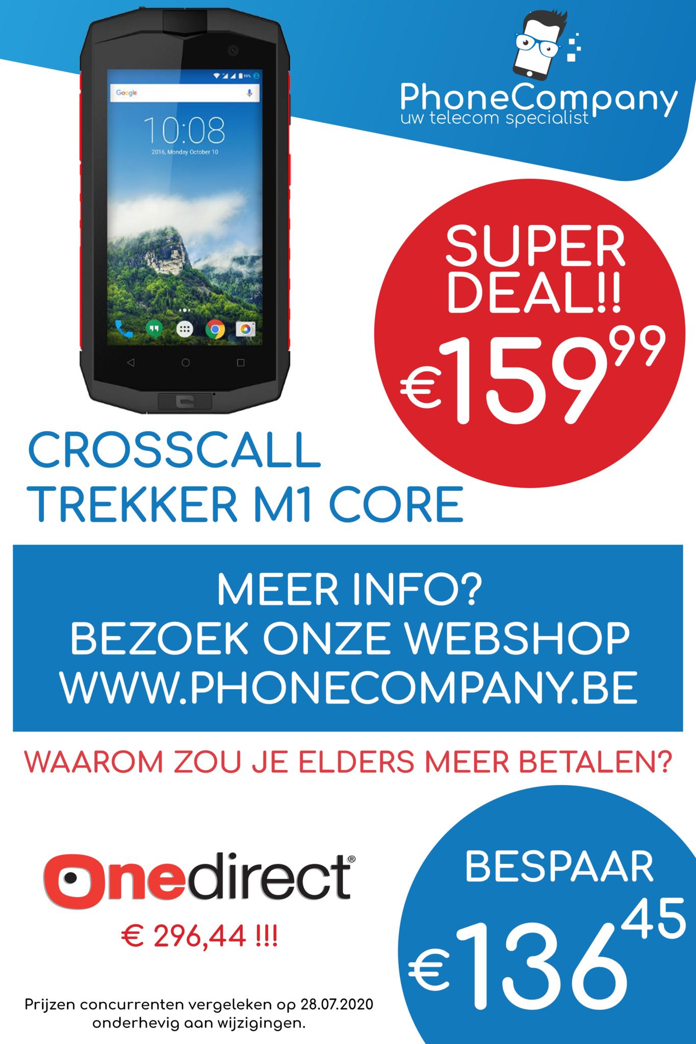 Crosscall Trekker M1 Core