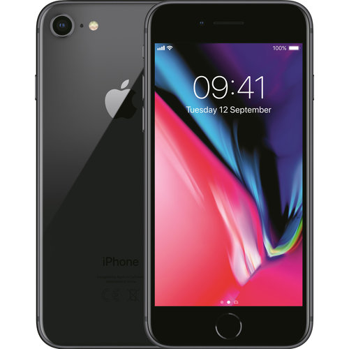 Apple / Forza Refurbished Refurbished Apple iPhone 8 - 64 GB Zwart