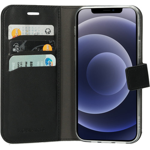 Mobiparts Classic Wallet Case - Apple iPhone 12/12 Pro Black