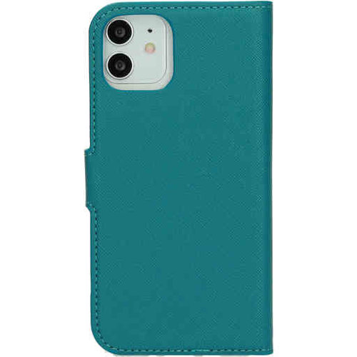 Mobiparts Saffiano Wallet Case - Apple iPhone 12/12 Pro Turquoise