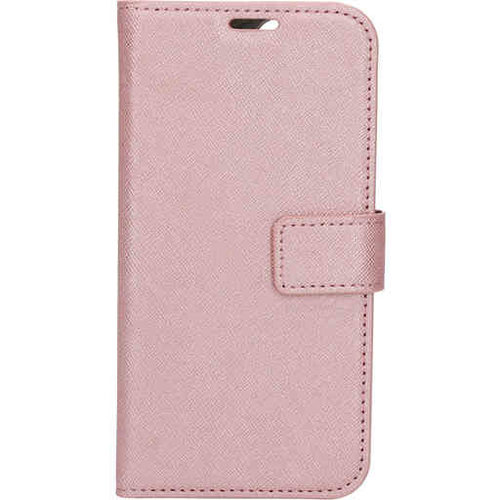 Mobiparts Saffiano Wallet Case - Apple iPhone 12/12 Pro Pink