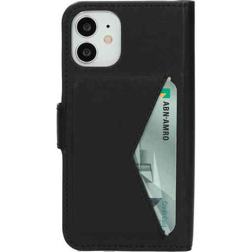 Mobiparts Classic Wallet Case - Apple iPhone 12 mini Black