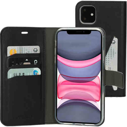 Mobiparts Classic Wallet Case - Apple iPhone 11 Black