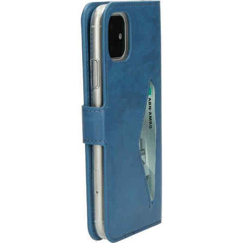 Mobiparts Classic Wallet Case - Apple iPhone 11 Steelblue