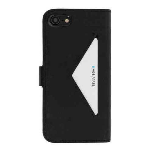 Mobiparts Classic Wallet Case - Apple iPhone SE Black
