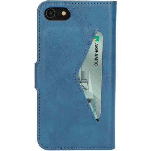 Mobiparts Classic Wallet Case - Apple iPhone 7 Steelblue