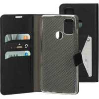 Classic Wallet Case - Samsung Galaxy A21S Black