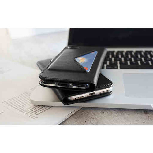 Mobiparts Classic Wallet Case - Samsung Galaxy A41 Black