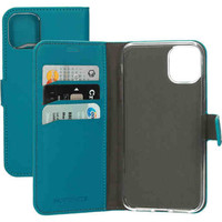 Saffiano Wallet Case - Apple iPhone 11 Turquoise