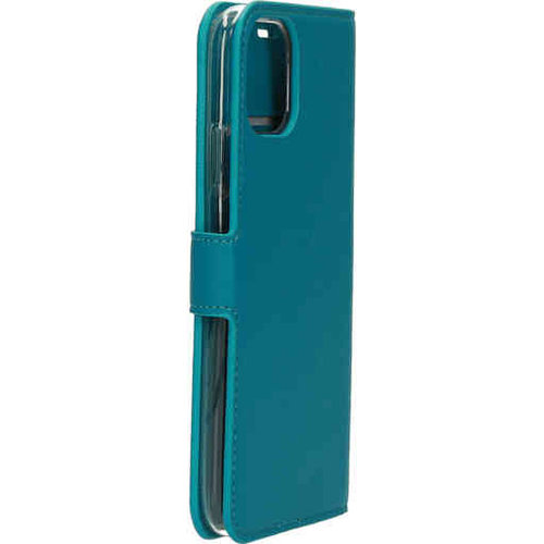 Mobiparts Saffiano Wallet Case - Apple iPhone 11 Turquoise