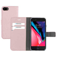 Saffiano Wallet Case - Apple iPhone 8 Pink