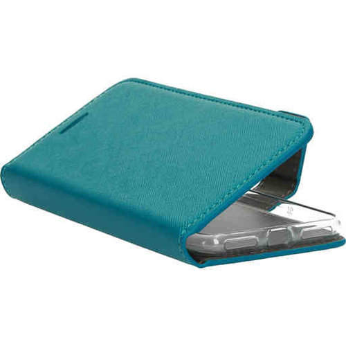 Mobiparts Saffiano Wallet Case - Apple iPhone 8 Turquoise