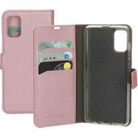 Saffiano Wallet Case - Samsung Galaxy A41 Pink