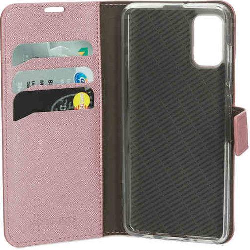 Mobiparts Saffiano Wallet Case - Samsung Galaxy A71 Pink