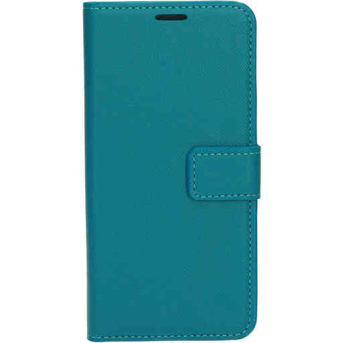 Mobiparts Saffiano Wallet Case - Samsung Galaxy A71 Turquoise