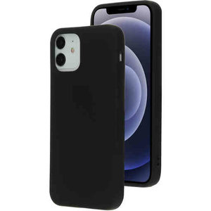 Mobiparts Silicone Cover - Apple iPhone 12/12 Pro Black