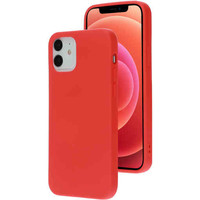 Silicone Cover - Apple iPhone 12/12 Pro Rood