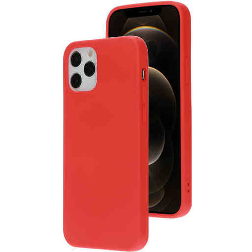 Mobiparts Silicone Cover - Apple iPhone 12/12 Pro Rood