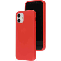 Silicone Cover - Apple iPhone 12 mini Rood
