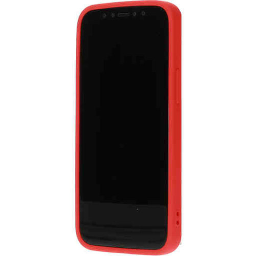 Mobiparts Silicone Cover - Apple iPhone 12 mini Rood