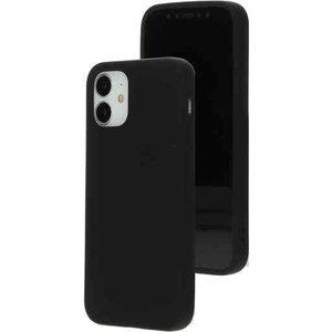 Mobiparts Silicone Cover - Apple iPhone 12 mini Black