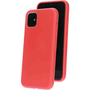 Mobiparts Silicone Cover - Apple iPhone 11 Rood