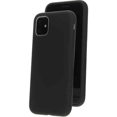 Mobiparts Silicone Cover - Apple iPhone 11 Black