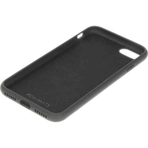 Mobiparts Silicone Cover - Apple iPhone 7 Black