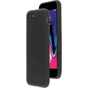 Mobiparts Silicone Cover - Apple iPhone 8 Black