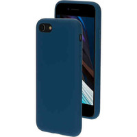 Silicone Cover - Apple iPhone 7 Blueberry Blue