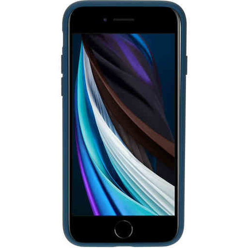Mobiparts Silicone Cover - Apple iPhone 7 Blueberry Blue
