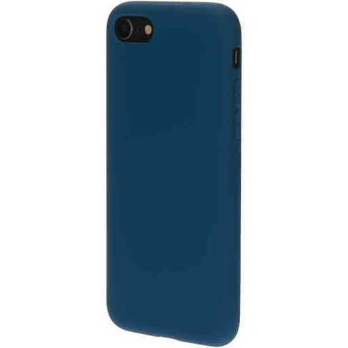 Mobiparts Silicone Cover - Apple iPhone SE Blueberry Blue