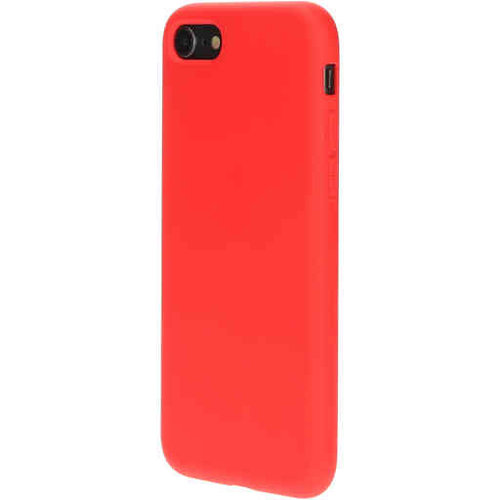 Mobiparts Silicone Cover - Apple iPhone 7 Rood