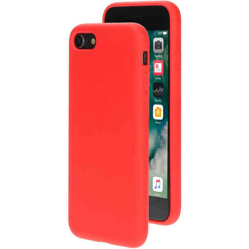 Mobiparts Silicone Cover - Apple iPhone SE Rood