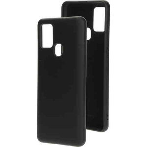 Mobiparts Silicone Cover - Samsung Galaxy A21S Black