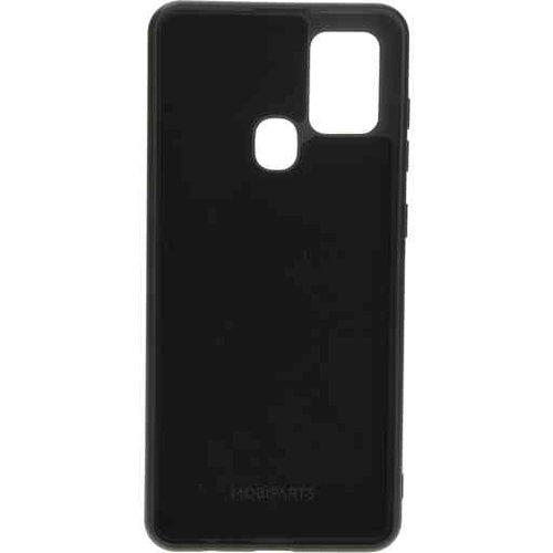 Mobiparts Silicone Cover - Samsung Galaxy A21S Black