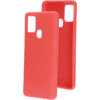 Silicone Cover - Samsung Galaxy A21S Rood