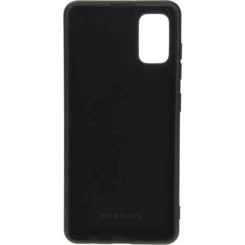 Mobiparts Silicone Cover - Samsung Galaxy A41 Black