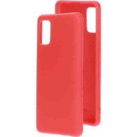 Silicone Cover - Samsung Galaxy A41 Rood