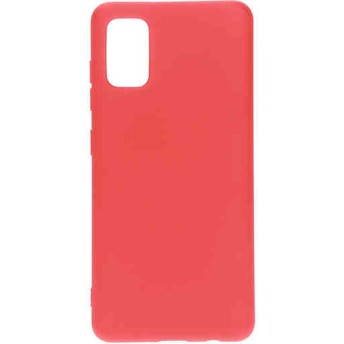 Mobiparts Silicone Cover - Samsung Galaxy A41 Rood