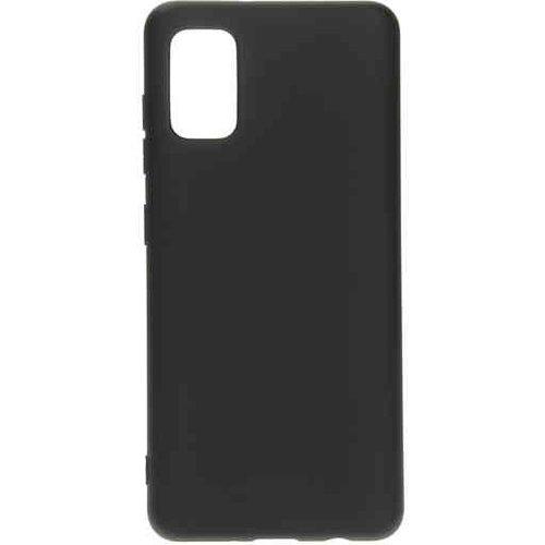 Mobiparts Silicone Cover - Samsung Galaxy A71 Black