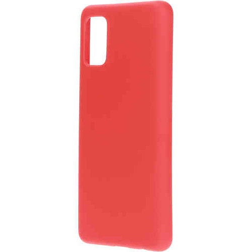 Mobiparts Silicone Cover - Samsung Galaxy A71 Rood