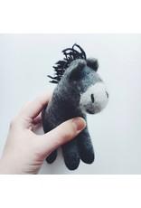 Felted Donkey Toy