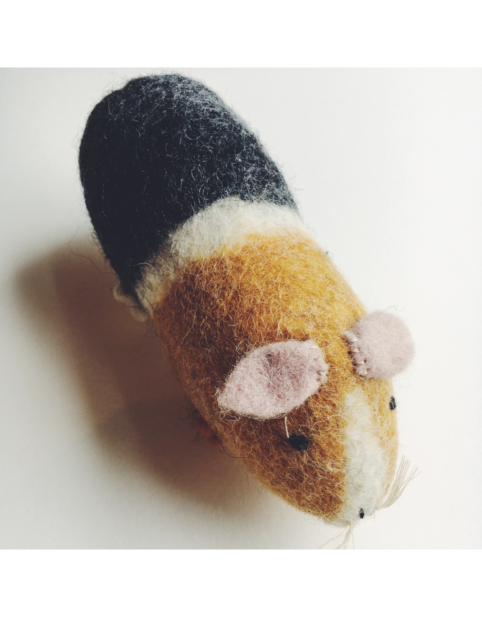 Felted Guinea Pig Toy