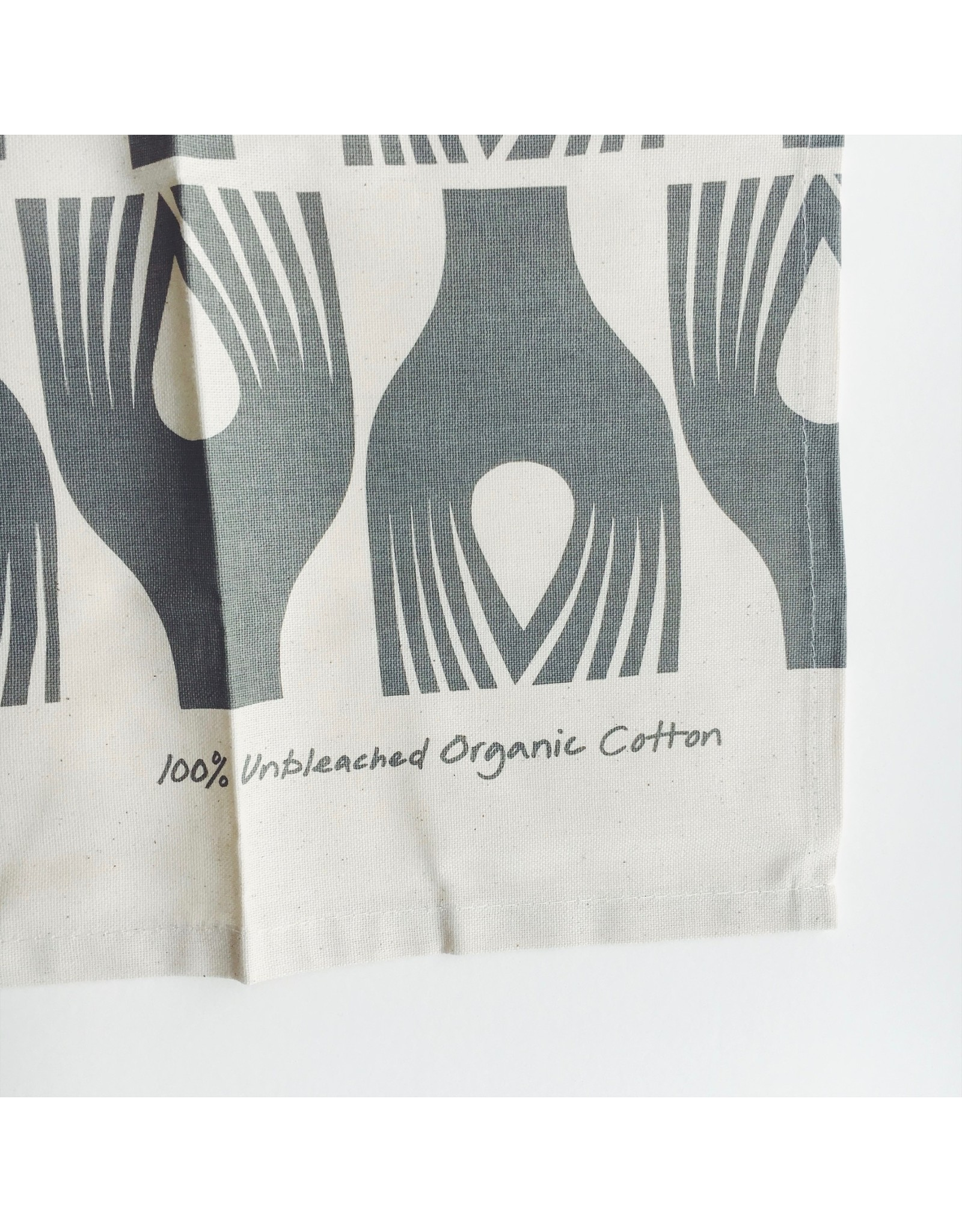 Artichoke Pattern Tea Towel