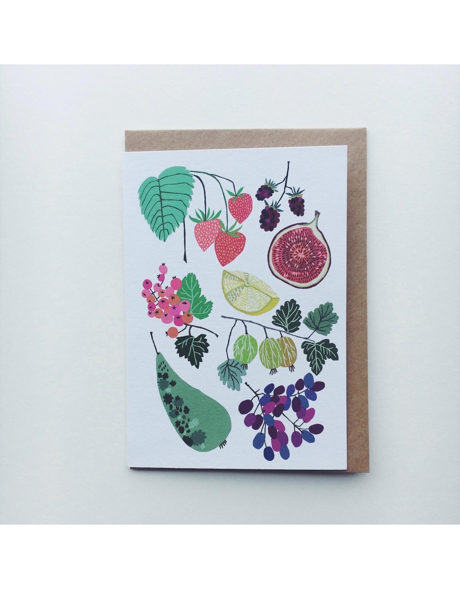 Fruit Fields Greeting Card